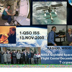 SSTV picture received from ISS, while /M