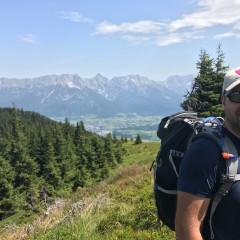 Saalachtaler Höhenweg, Länge 12,5 km, Hm 700m, Gehzeit 4,5 Stunden