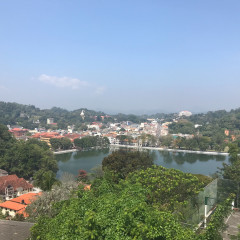Kandy City view Sri Lanka