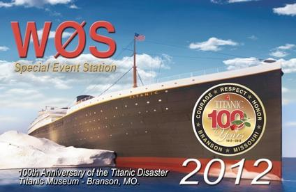 WØS Titanic Special Event