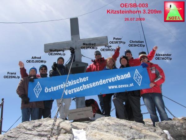 OE/SB-003 Kitzsteinhorn (3.209m)