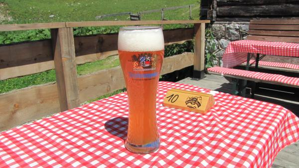 beer after hiking ... ;-)